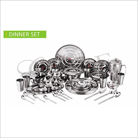 SS Dinner Set