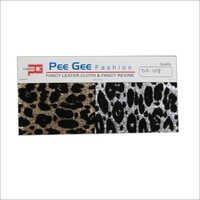 Pu Printed Glitter Fabric