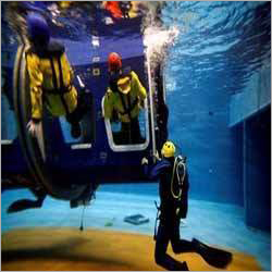 Helicopter Underwater Escape Training