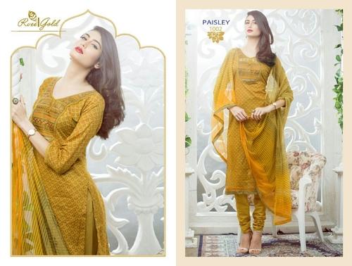 Yellow deisgner dress