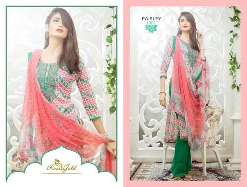Green Designer dress