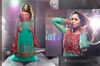 Rama Green heavy design sarara