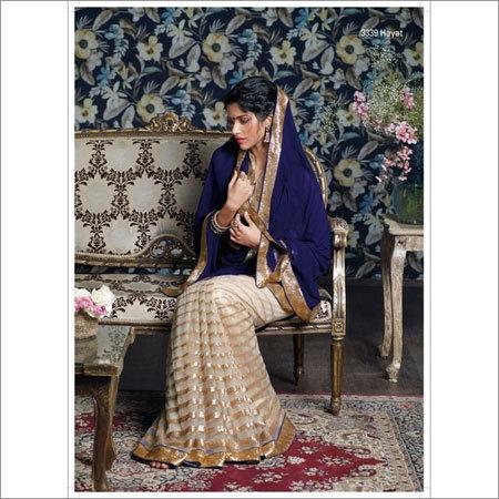 Wedding party saree