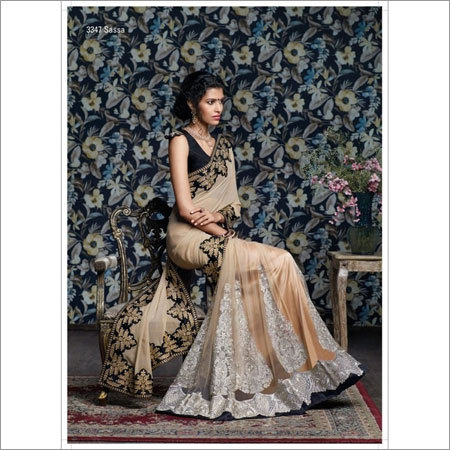 Lehenga style designer sarees