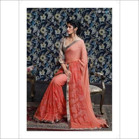 Resham Embroidered Sarees