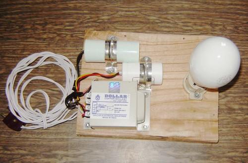 Mercury Lamp kit