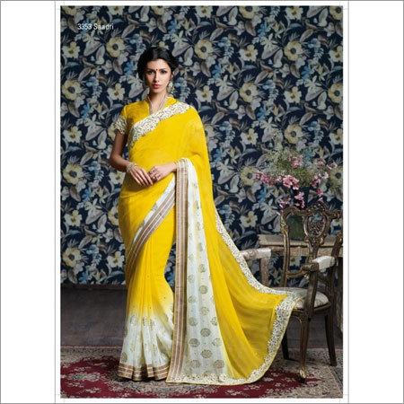 Aesthetic pattern sarees