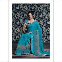 Resham Work & Satin Silk
