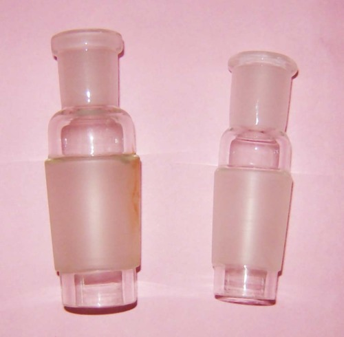 Glass hollow adapters