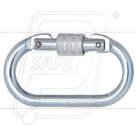 Steel screw locking