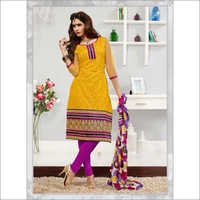 Yellow Chanderi Brasso