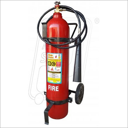 Trolley Mounted CO2 Fire Extinguishers