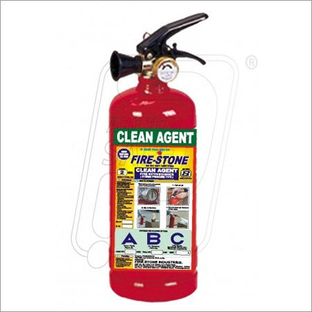 Clean Agent Extinguisher