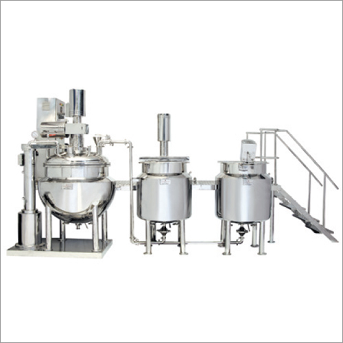 Ointment Section Machines