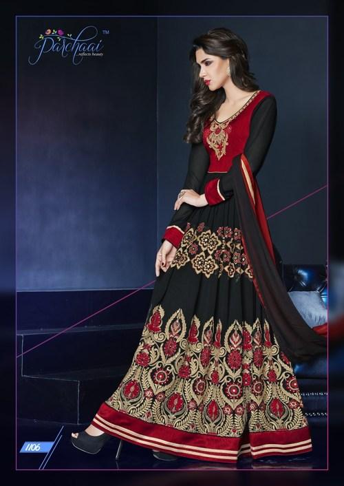 Traditional Anarkali Dress