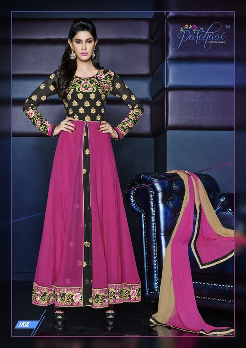 Adorable Midsut Anarkali Dress