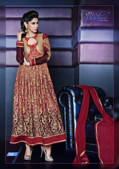 Indian Traditional Bride Anarkali Dress