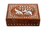 WOODEN INLAID BOX