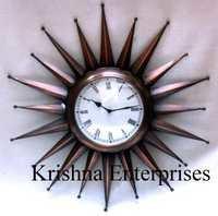 Antique Sun Style Clock