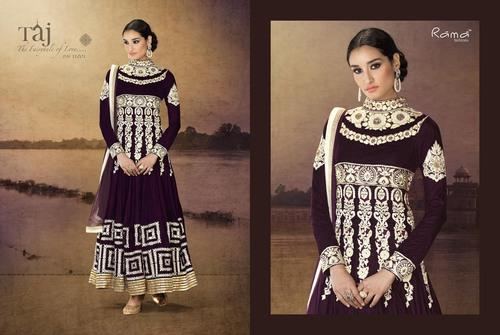 Khatli Work Anarkali Suit.