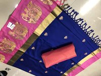 Buy Pure Cotton Silk Saree Catalog From Sethnic
