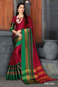 Cotton weaving sarees