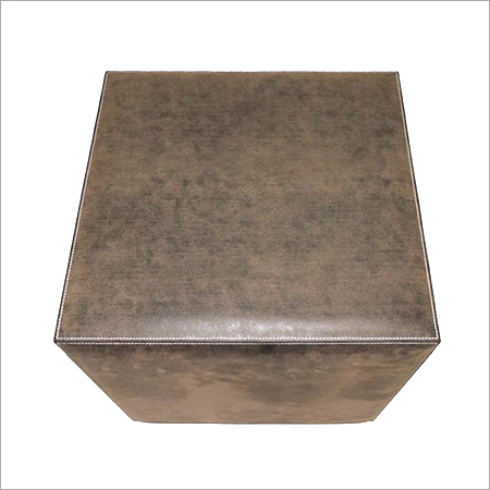 Leather Box Stools