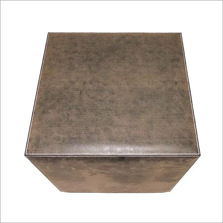 Leather Box Stools