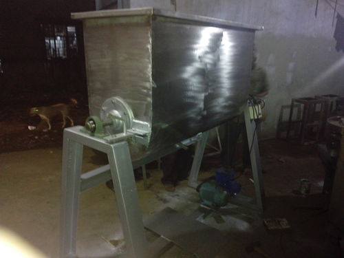 Ribbon Type Mixer Machine