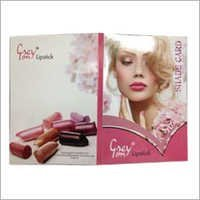 Lipsticks Shade Card