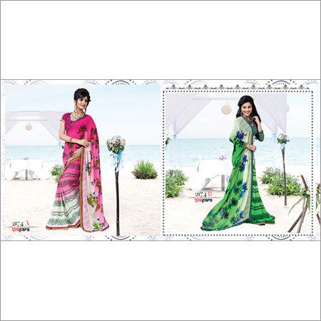 Latest Printed Sari