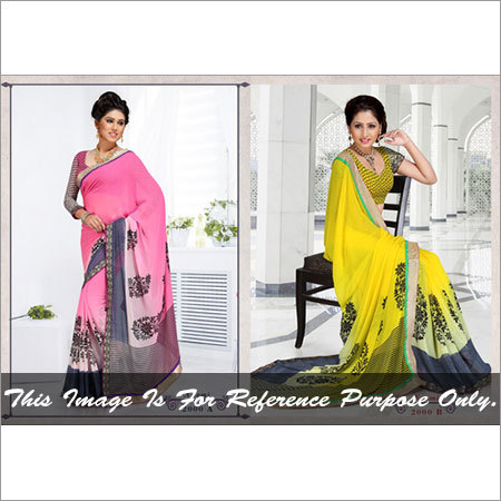 Fancy Yellow Sarees
