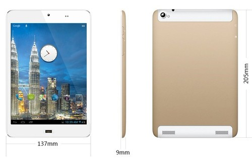 7.85 Inch Android 4.4 3G Phablet Qualcomm MSM8212