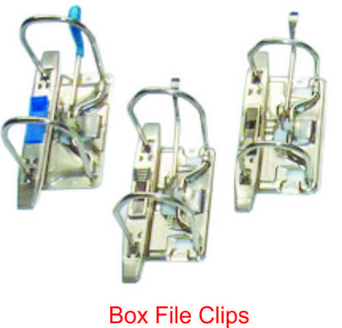 BOX FILE CLIPS