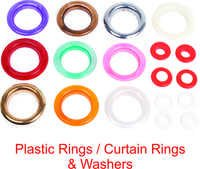 PLASTIC RINGS/CURTAIN RINGS & WASHERS