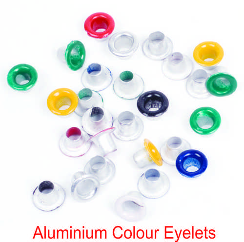 ALUMUNUM COLOUR EYELETS