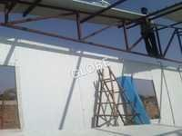 PUF Panel Erection At Site