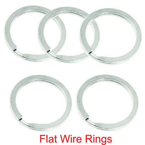 FLAT WIRE RINGS