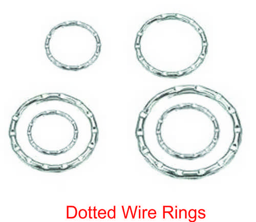 DOTTER WIRE RINGS