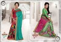 Fancy Handwork Sarees