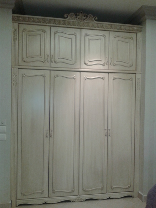 Wooden Almirah Cabinet