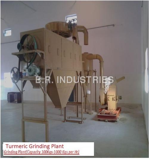 Turmeric Grinding Plant
