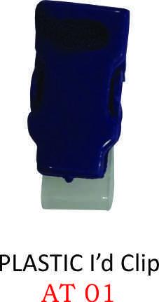 PLASTIC ID CLIP