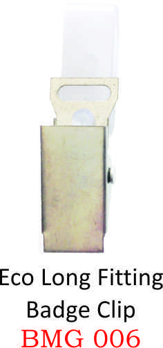ECO LONG FITTING BADGE CLIP