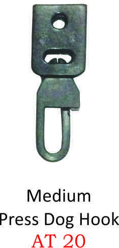 MEDIUM PRESS DOG HOOK