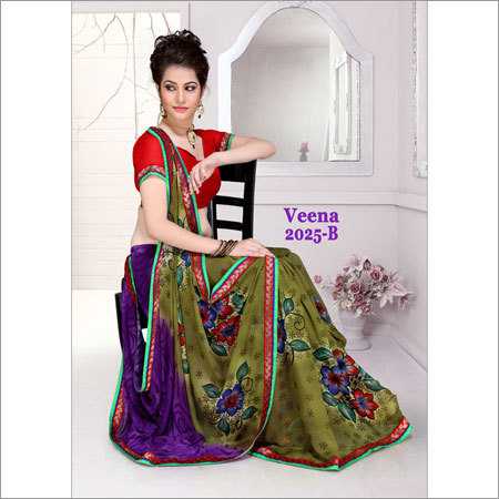 Fancy Printed Catalouge Sarees