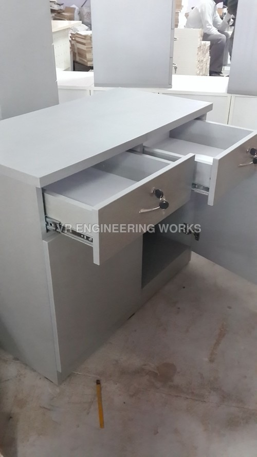 Office Table with Lockers