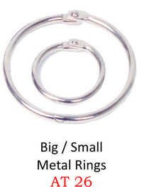 BIG / SMALL METAL RINGS