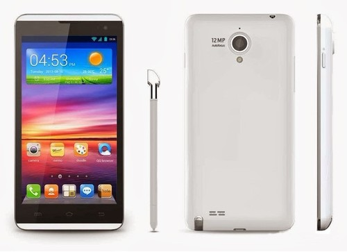 Mobile 5-inch HD OGS Display Quad-Core CPU