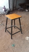 Steel Lab Stool